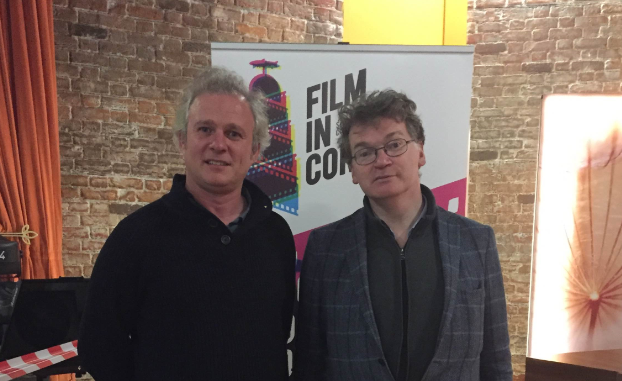 Rossa Mullin with Paul Duane - Film in Cork